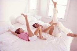 Зарядка в постели