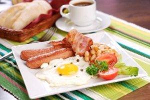 Утренний прием пищи